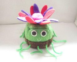 Plant Cube Plushie by Cube-lees