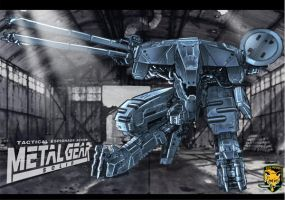 Metal Gear Rex by BongzBerry