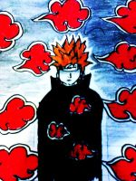 Pain The Leader of Akatsuki by Mr-Astroboy
