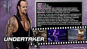 WWE Undertaker ID Wallpaper Widescreen by Timetravel6000v2
