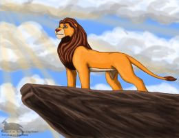 Mufasa by Ravenfire5