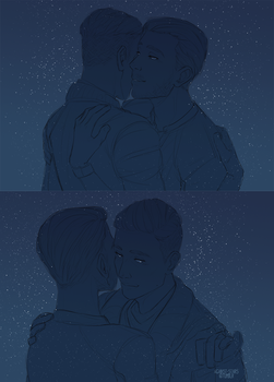+as long as you stand by me by against-stars