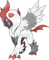 Mega Absol (Shiny Theory) by HGSS94