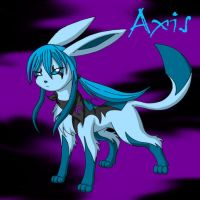 Axis the Glaceon by Laxia