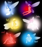 Fairies by Humanoid-Magpie