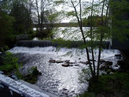Townsend Harbor Falls 2 by lilly-peacecraft