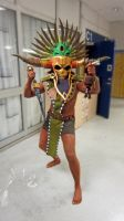 Witch Doctor Cosplay (male) summer of 2012 by BrakeHeart