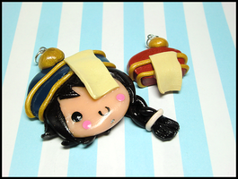 Bongun + Mini Munak Hat Charms by GrandmaThunderpants