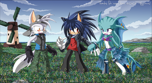 Let's pick some flowers up :D by Chibi-Nuffie