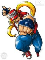 Terry Bogard by REX-203