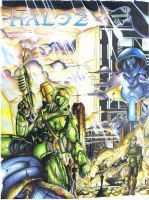 Halo 2 by Partin-Arts