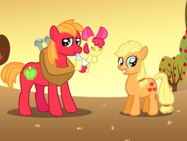 The Apple Family Kids by Tehguyudontknow