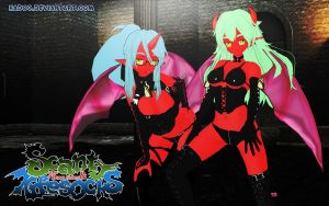 3DCG Scanty and kneesocks sexy by hadoc