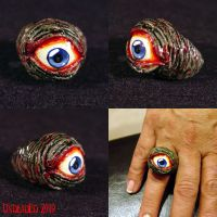 Rot Ring All Seeing Zombie Eye by Undead-Art