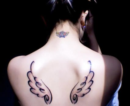 Rinoa wings and Triforce by daniellevedo