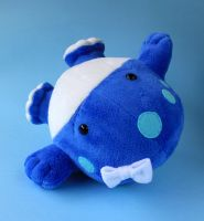 Blue Quaggan from Guild Wars 2 by FizziMizzi