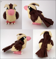 Pidgey Figurine by MaryCapaldi