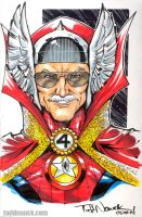 Stan Lee by ToddNauck