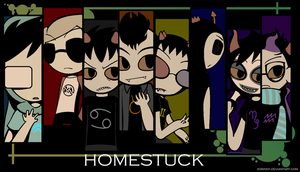 :::HOMESTUCK BOYS WALLPAPER::: by princelupin