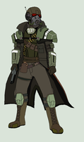 Fallout NW: Elite Riot officer by ZergRex