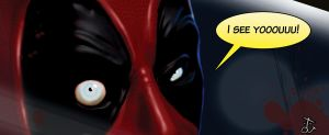 DEADPOOL close-up by convoy81