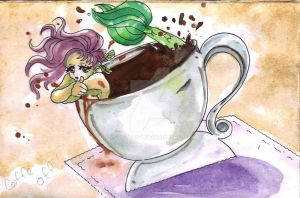 MERMAID  IN COFFE by LOVETTO44
