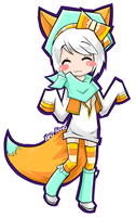 GO: Aiko Aiwa-Fox by Aikopon
