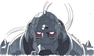 Alphonse Elric 01 by MikaGx