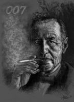 Ian Fleming by YannGOBART
