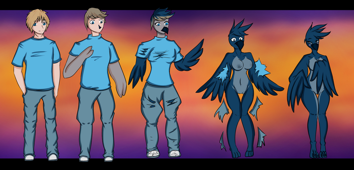 H2015 - 10 - Joodoo - Anthro TG by Luxianne
