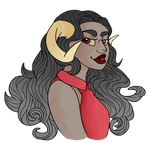 Aradia is so much fun to draw in this style by Garnetsgrin