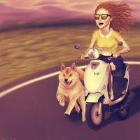 Just ride. by phfc
