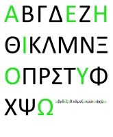 Greek Alphabet by sternradio7