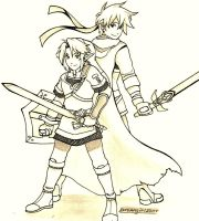 .: Link and Ike :. by Dreamgirl2007