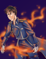 Roy Mustang by QueenAllyJean