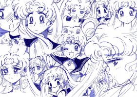 Usagi - Sailor moon pen by kairimiao13