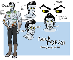Maria Adessi - reference sheet or something by SirMeo