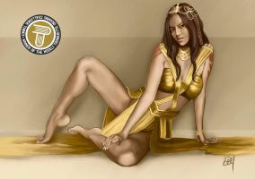 Dejah Toris, Princess of Mars by VayLoe
