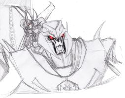 Megatron and Starscream by ConstantM0tion