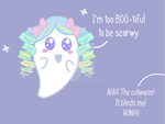 Cute little ghost by LilBumbleBear