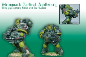 Sternguard Tactical Apothecary by Pip-Faz