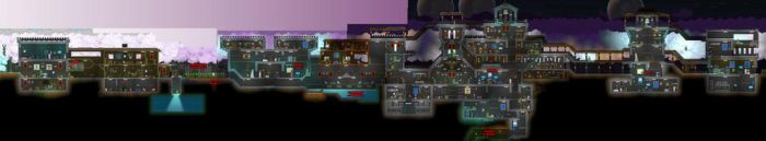 Starbound Castle Leadpoint - Before the Apocalypse by leadpoint