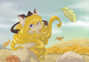 Golden autumn by Melona-F