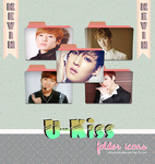 Kevin u-kiss #2 folder icons (request) by stopidd
