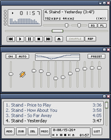 Luna HoE for Winamp by tool-hippy