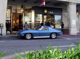 1963 64 Corvette Sting Ray by Partywave