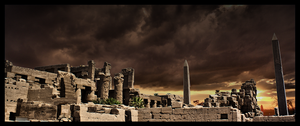 Karnak temple evocation by kenpunk79