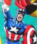 Captain America by Mr-P-P-Hed
