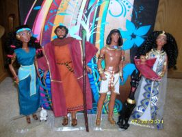 prince of egypt dolls by halliegirl09