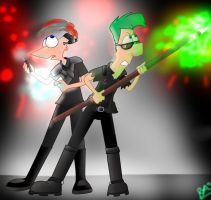 Second Dimension Bros by BlueAuroraLight